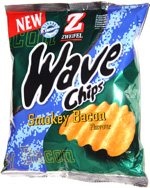 Zwiefel Wave Chips Smokey Bacon Flavor