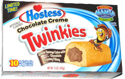 Hostess Chocolate Creme Twinkies