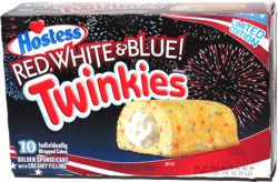 Hostess Twinkies Red, White & Blue!