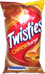 Twisties Cheeseburger
