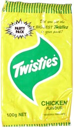 Twisties Chicken Flavour