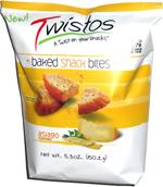 Twistos Baked Snack Bites Asiago