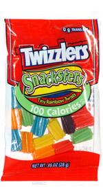 Twizzlers Snacksters Tiny Rainbow Twists 100 Calories