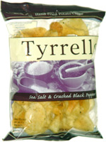 Tyrrells Sea Salt & Crushed Black Pepper Hand Fried Potato Chips