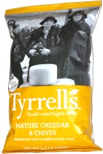Tyrrells Hand Cooked English Chips Mature Cheddar & Chives