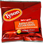 Tyson Hot 'n Spicy Buffalo Style Chicken Chunks