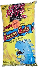Uncle Ray's Crunchy Cheese Curls
