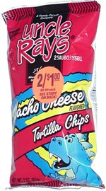 Uncle Ray's Nacho Cheese Tortilla Chips