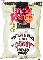 Uncle Ray's Mustard & Onion Coney Potato Chips