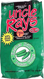 Uncle Ray's Kosher Dill Potato Chips