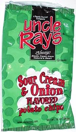 Uncle Ray's Sour Cream & Onion Potato Chips