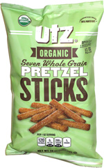 Utz Organic Seven Whole Grain Pretzel Sticks