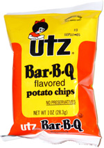 Utz Bar-B-Q Potato Chips