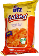 Utz Naturally Baked Potato Crisps B-B-Q