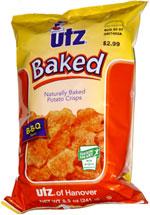 Utz Naturally Baked Potato Crisps B-B-Q