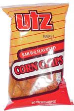 Utz Bar-B-Q Flavored Corn Chips