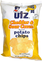 Utz Cheddar & Sour Cream Potato Chips
