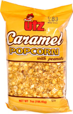 Utz Caramel Popcorn with Peanuts