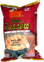 Utz Classic Russets Gourmet Dark Potato Chips