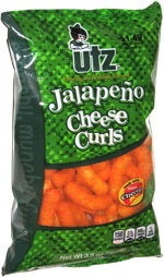 Utz Jalapeño Cheese Curls