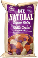 Utz Natural Gourmet Medley Kettle Cooked Potato Chips