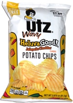 Utz Wavy HeluvaGood! Jalapeño Cheddar Potato Chips