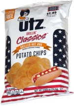 Utz Grillin' Classics Grilled Hot Dog Potato Chips