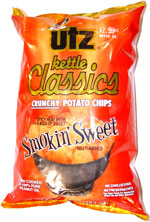 Utz Kettle Classics Smokin' Sweet BBQ Flavored Potato Chips