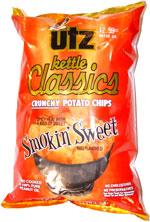 Utz Kettle Classics Smokin' Sweet BBQ Flavored Potato Chips
