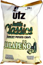 Utz Kettle Classics Crunchy Potato Chips Jalapeno