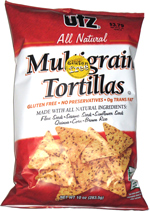 Utz All Natural Multigrain Tortillas