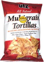 Utz All Natural Multigrain Tortillas