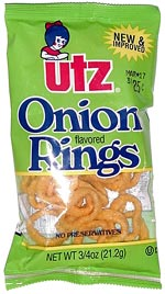 Utz Onion Flavored Rings