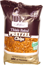 Utz Select Thinly Baked Pretzel Chips