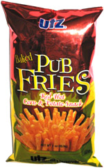 Utz Red Hot Pub Fries