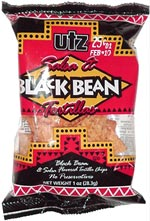 Utz Salsa & Black Bean Tortillas