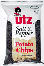 Utz Salt & Pepper Potato Chips