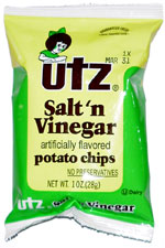 Utz Salt 'n Vinegar Potato Chips