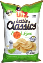 Utz Kettle Classics Salted Lime Crunchy Potato Chips