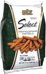 Utz Select Toasted Sesame Flavored Pretzels
