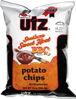 Utz Southern Sweet Heat BBQ Potato Chips
