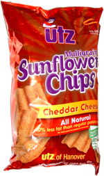 Utz Multigrain Sunflower Chips Cheddar Cheese
