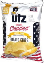 Utz Grillin' Classics Sweet Corn Potato Chips