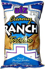 Utz Creamy Ranch Tortillas