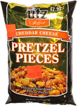 Utz Select Cheddar Cheese Pretzel Pieces