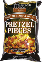 Utz Select Honey Mustard & Onion Pretzel Pieces