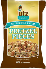 Utz Select Buttermilk Ranch Pretzel Pieces