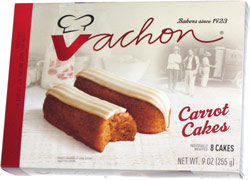 Vachon Carrot Cakes