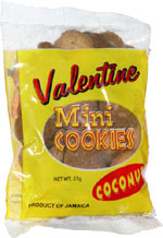 Valentine Mini Cookies Coconut