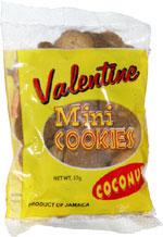 Valentine Mini Cookies Coconut
